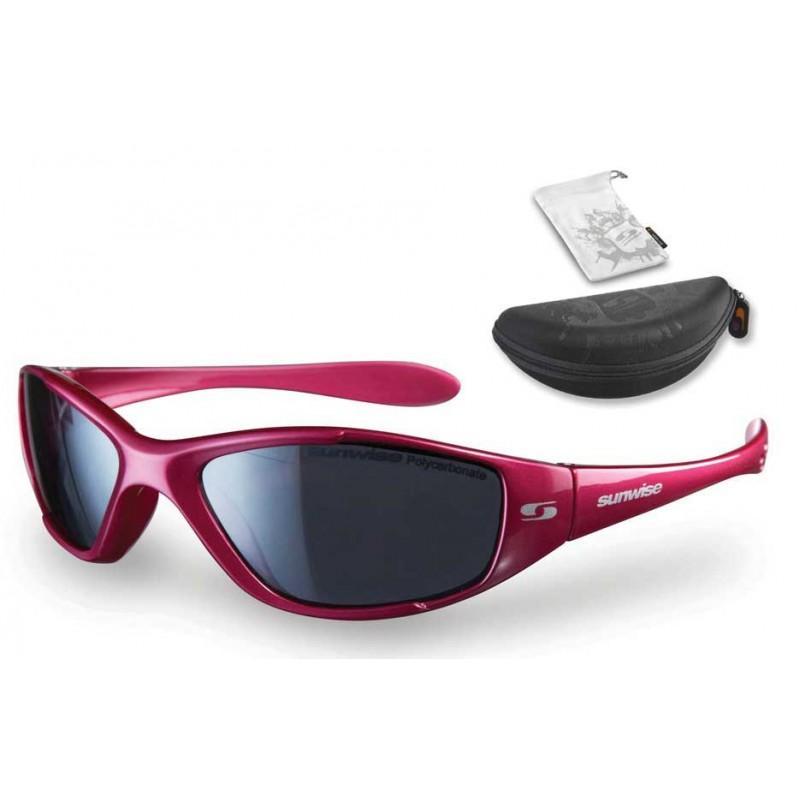 Sunwise Boost Sunglasses (Fuchsia) + FREE Hard Case