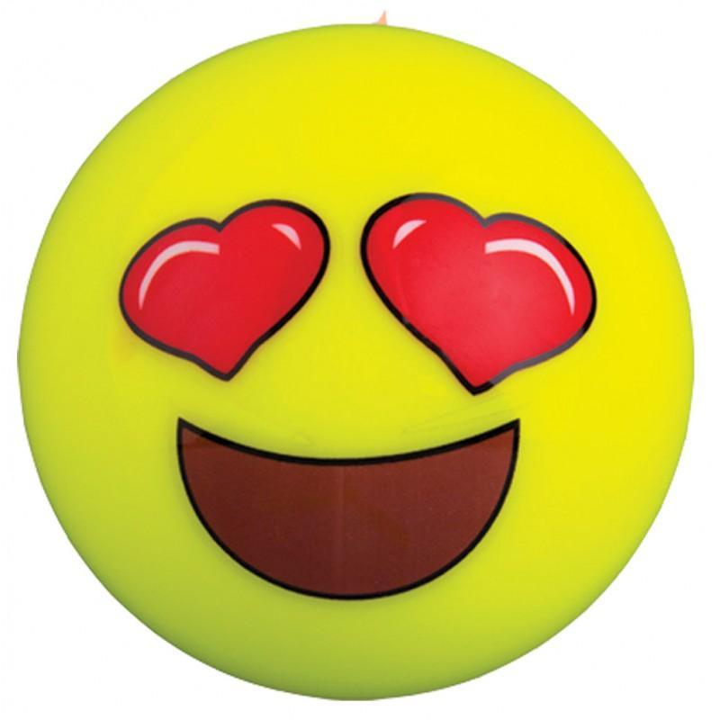 Grays Heart Eyes Emoji Hockey Ball