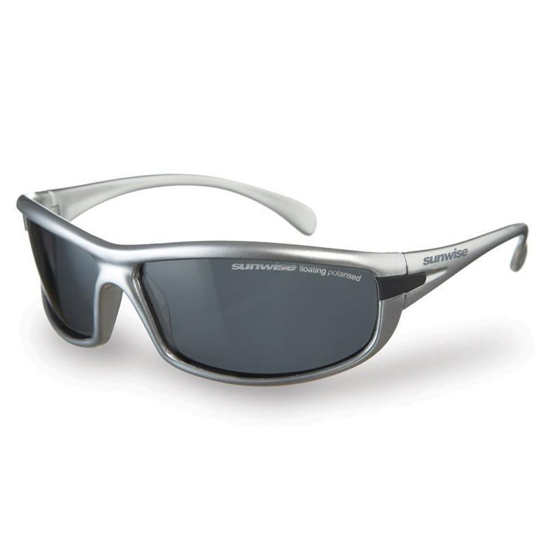 Sunwise Canoe Sunglasses (Silver) + FREE Hard Case