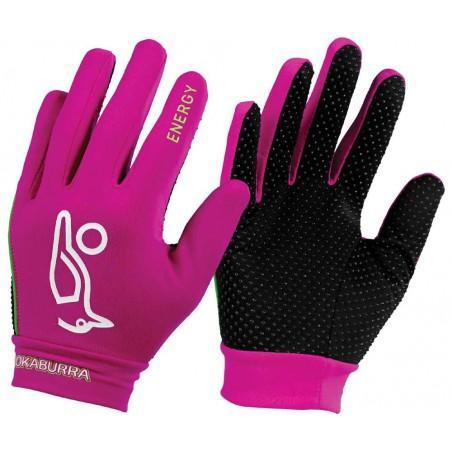Kookaburra Energy Hockey Gloves (Pink)