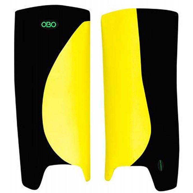 OBO Robo Hi-Rebound Legguards - Yellow/Black