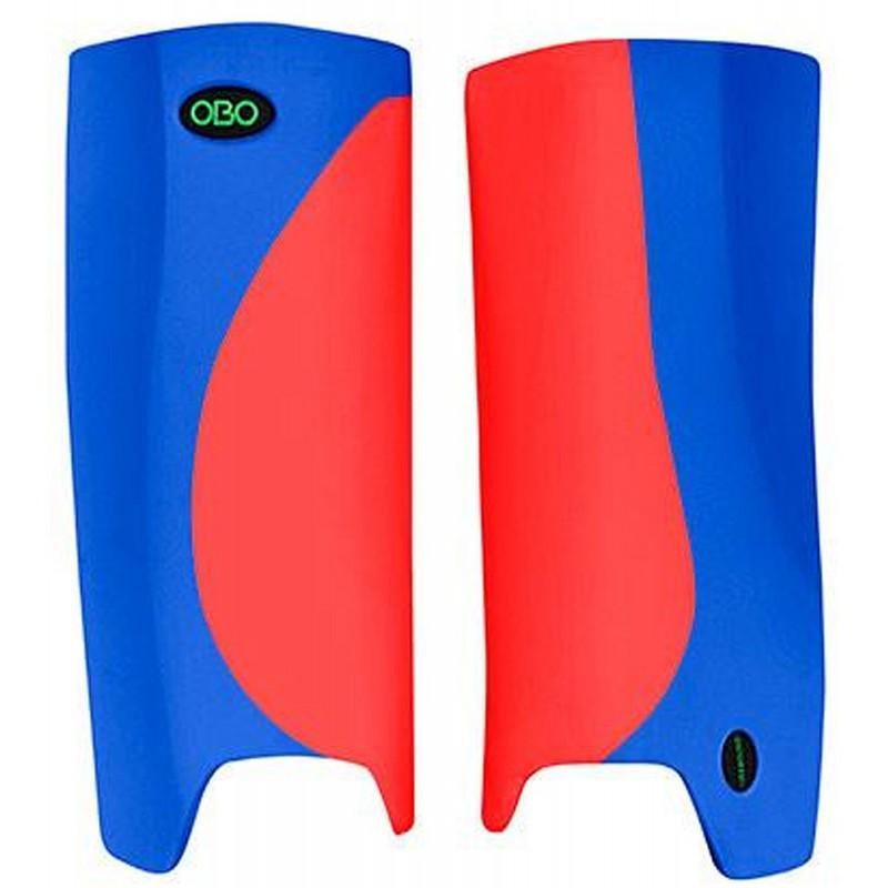 OBO Robo Hi-Rebound Legguards - Red/Blue