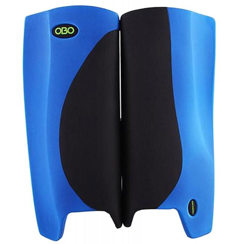 OBO Robo Hi-Rebound Legguards - Black/Blue