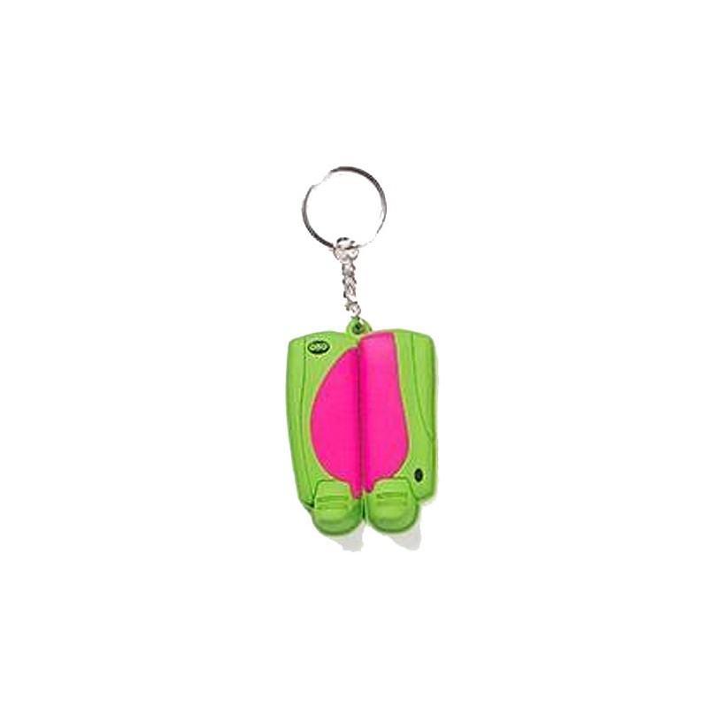 OBO Mini Legguard/Kicker Keyring - Pink / Green