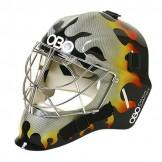 OBO FG Half Paint Helmet - Flame