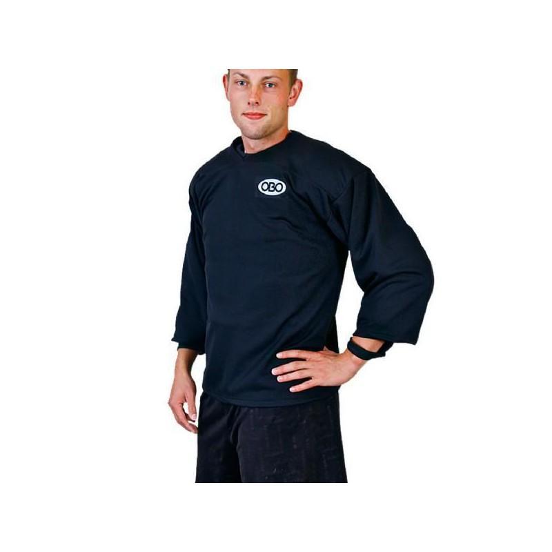 OBO Loose Fit Long Sleeve Smock - Black