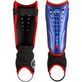 Grays Shield Junior Hockey Shinpads - Royal/Red (2019/20)