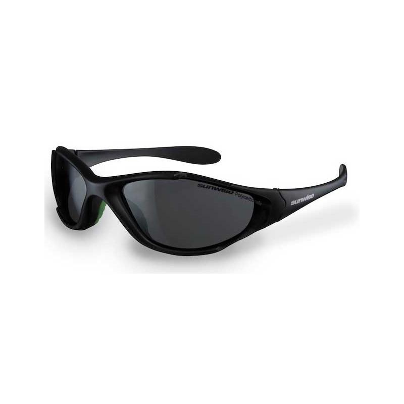 Sunwise Predator Sunglssses (Black) + FREE Hard Case