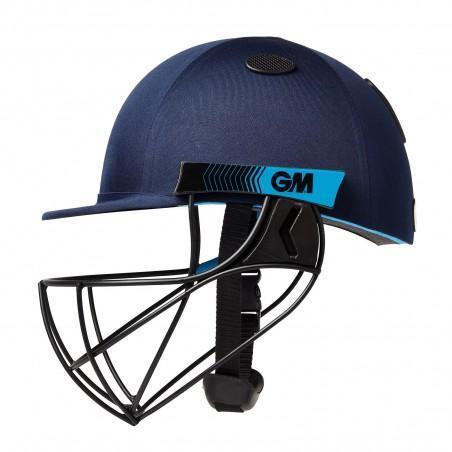 GM Neon Geo Cricket Helmet - Navy
