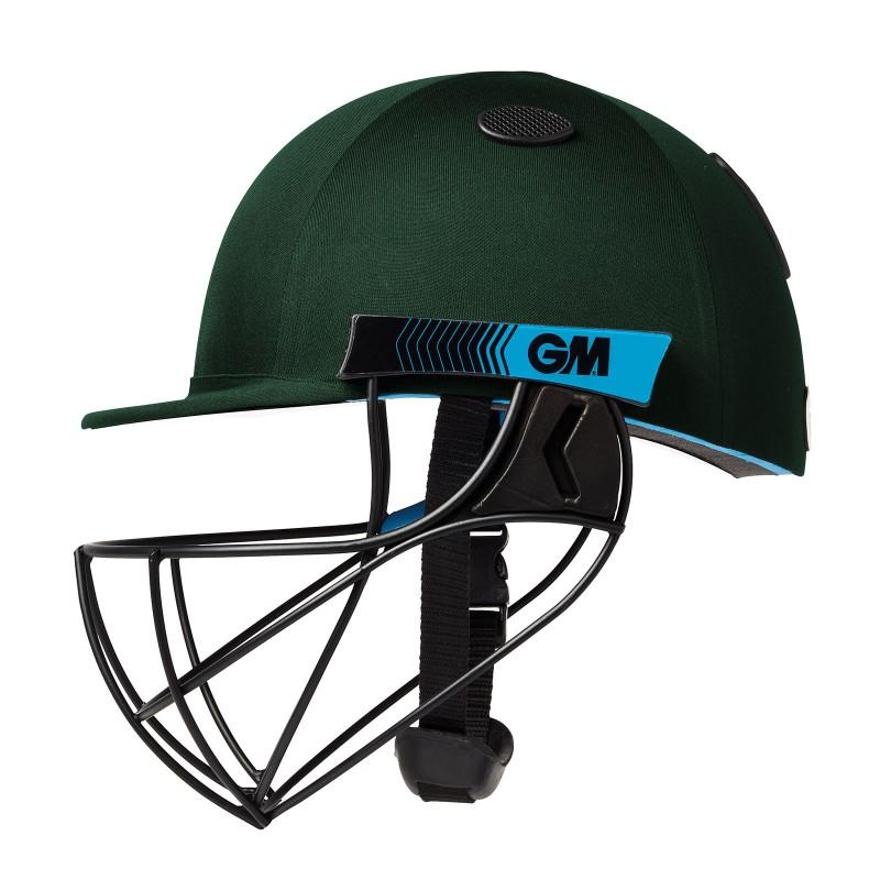 GM Neon Geo Cricket Helmet - Green (2020)