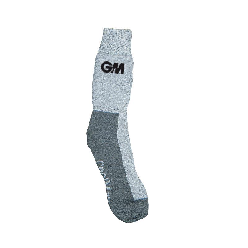 GM Teknik Cricket Socks - Grey Marl