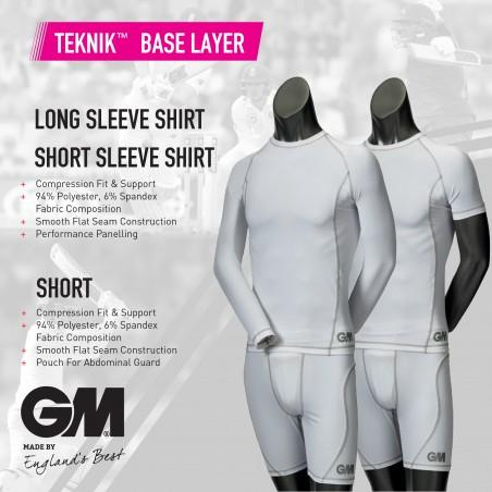 GM Short Sleeve Junior Teknik Baselayer