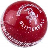 Kookaburra Glitter Ball - Red