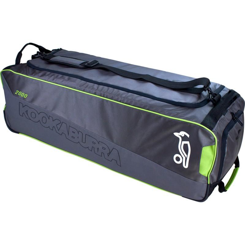 Kookaburra 2000 Wheelie Bag - Grey (2019)