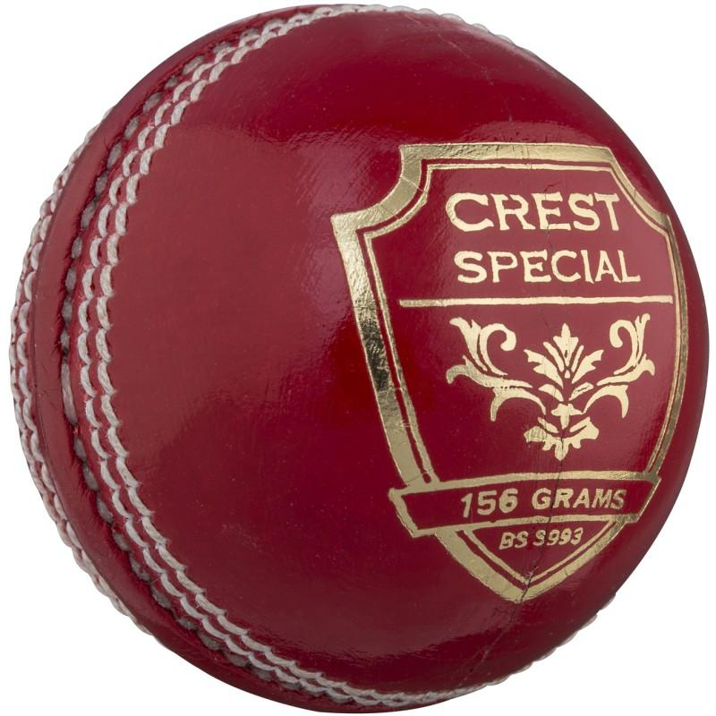 Gray Nicolls Crest Special Cricket Ball - Red (2020)