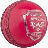 Gray Nicolls Crest Special Cricket Ball - Pink