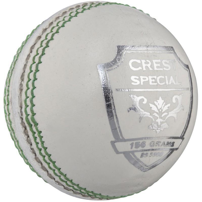 Gray Nicolls Crest Special Cricket Ball - White