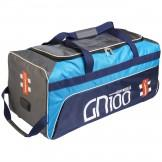 Gray Nicolls GN100 Wheelie Bag - Blue (2019)