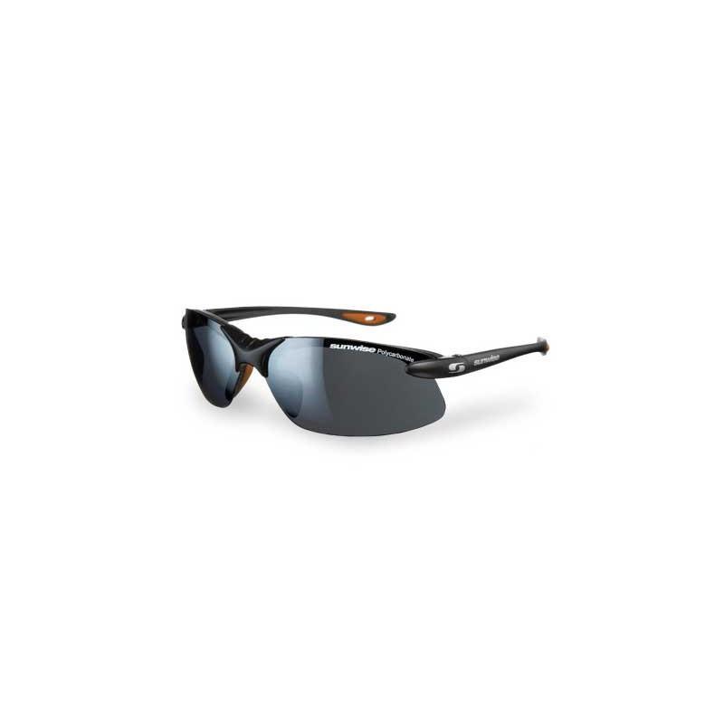 Sunwise Windrush Interchangeable Sunglasses (Black) + FREE Hard