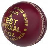 Elite Test Cricket Ball - Red