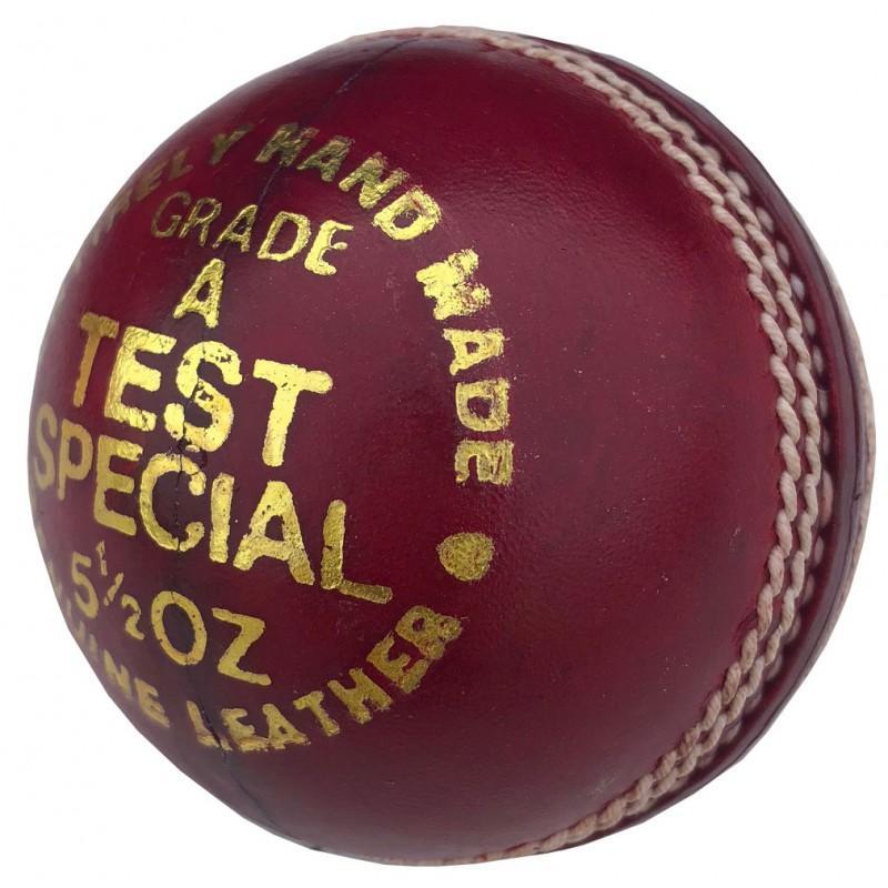 Elite Test Cricket Ball - Red