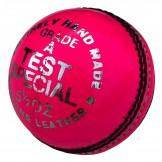 Elite 'Test Special' Cricket Ball - Pink