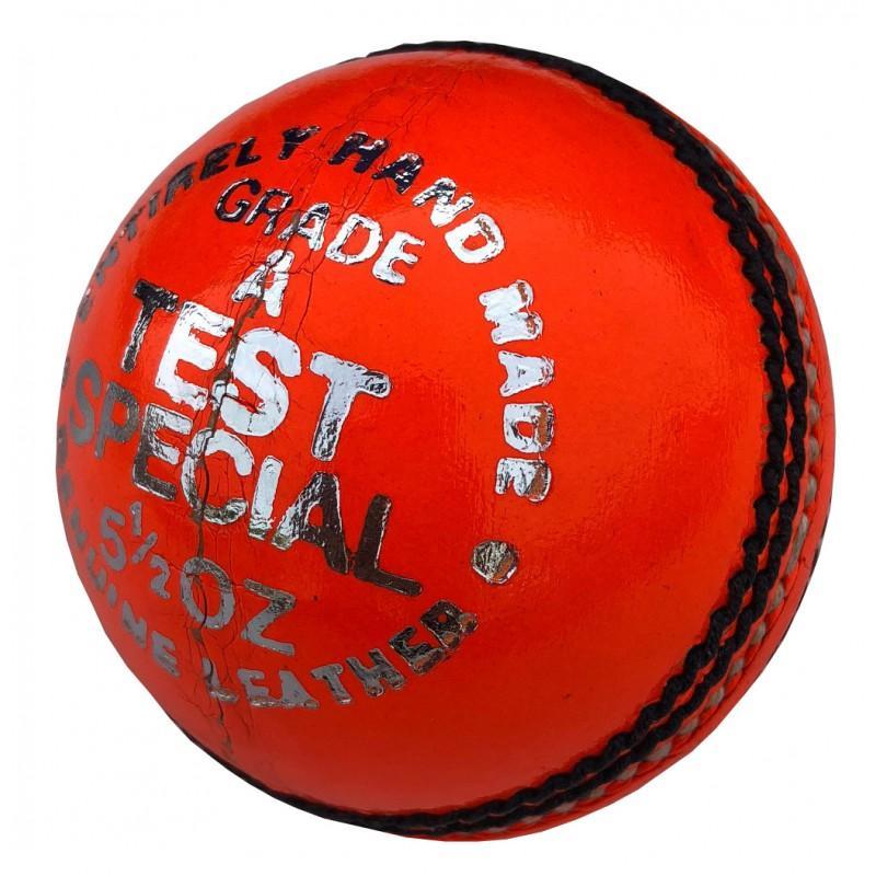 Elite 'Test Special' Cricket Ball - Orange