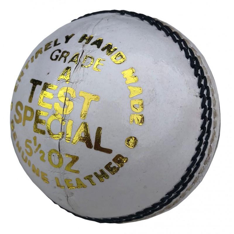 Elite 'Test Special' Cricket Ball - White