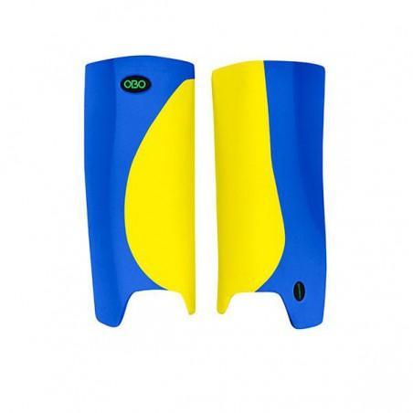 OBO Robo Hi-Rebound Legguards - Yellow/Blue