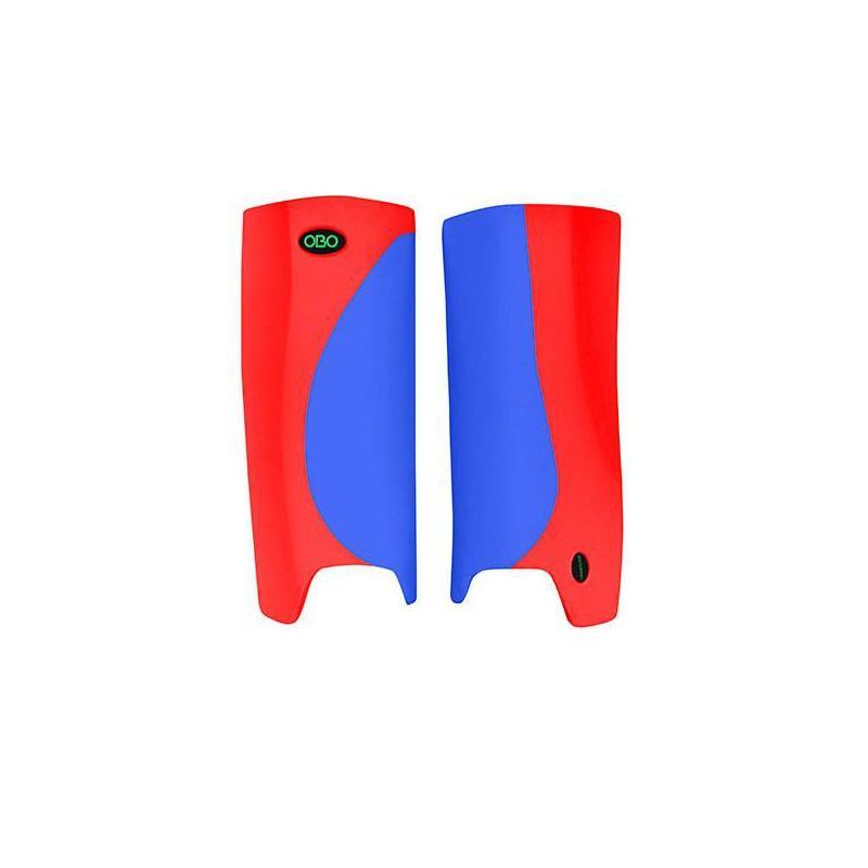 OBO Robo Hi-Rebound Legguards - Blue/Red
