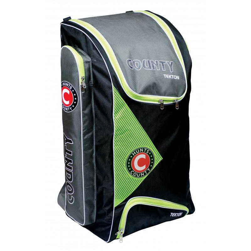 Hunts County Tekton Duffle Bag - Black/Green/White (2019)
