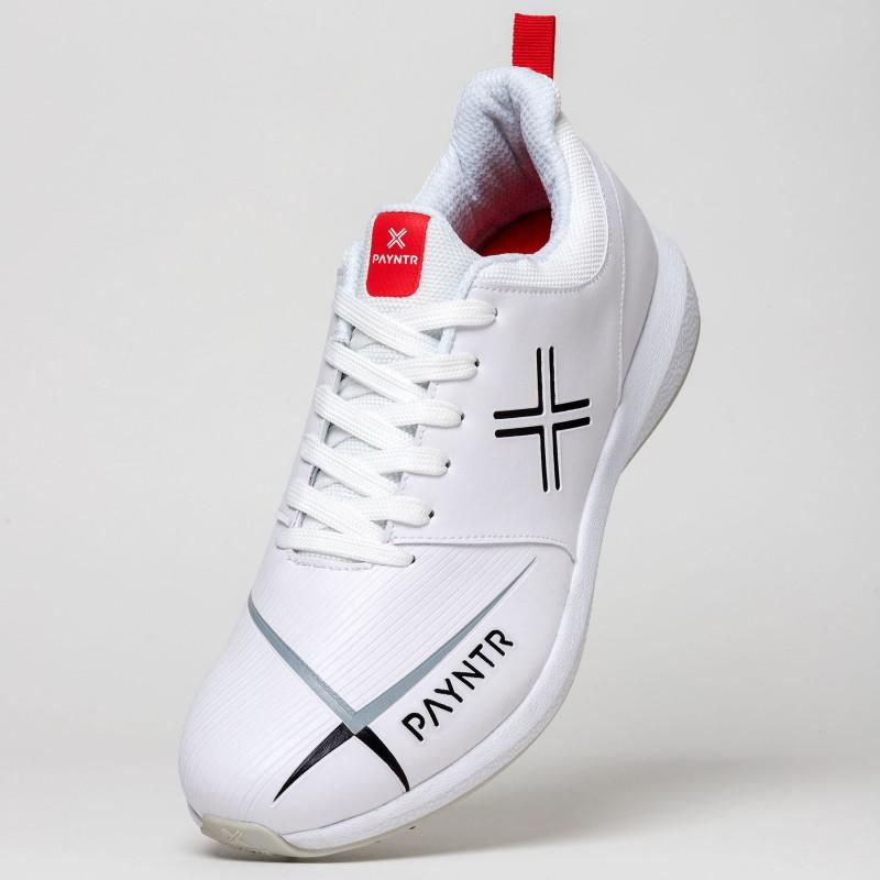 Payntr V Spike Cricket Shoes - White (2019)
