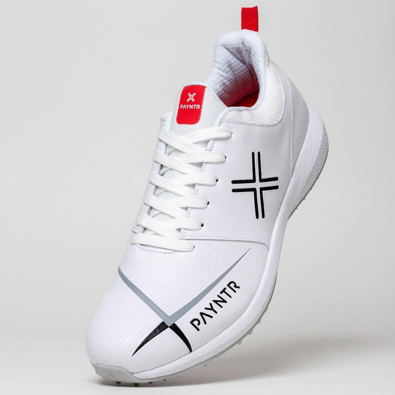 Payntr V Pimple Cricket Shoes - White (2019)