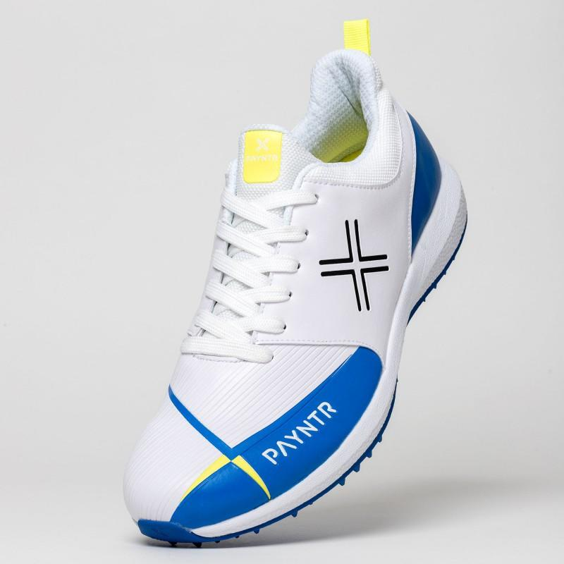 Payntr V Pimple Cricket Shoes - Blue/Yellow (2019)