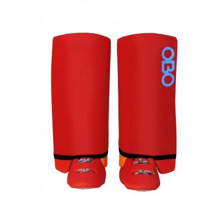 OBO Slippa Leg Guard Covers (Red)