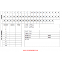 55 Over Cricket Umpires Match Cards (pack of 25)