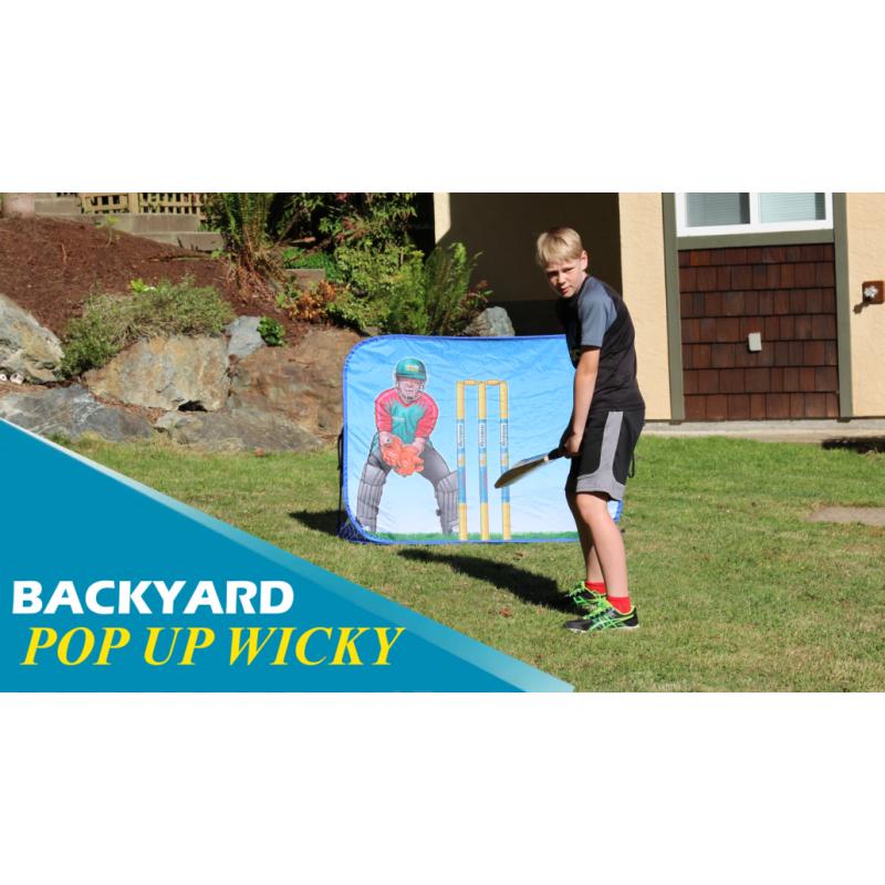 Backstop Pop Up Wicky