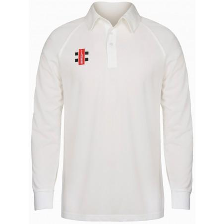 White Cricket Polo Shirt X-Small to XXX-Large 3 Quarter or Full Sleeve NEW