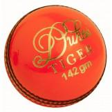 Dukes Tiger Junior Cricket Ball - Orange