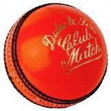 Dukes Club Match Cricket Ball - Orange