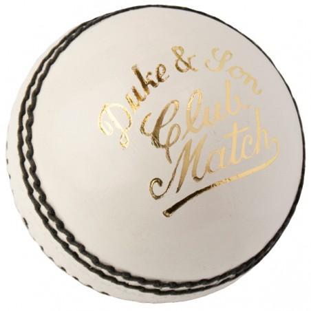 Dukes Club Match Cricket Ball - White