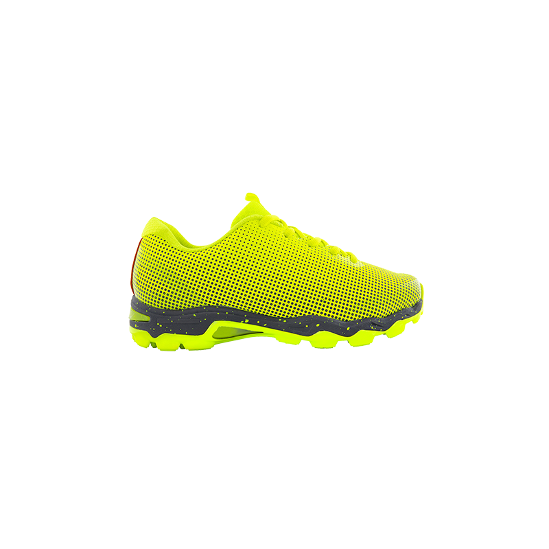 Grays Flight AST Junior Hockey Shoes - Fluo Yellow (2019/20)