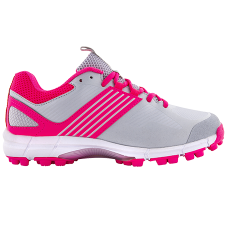 Grays Flash 2.0 Womens Hockey Shoes - Silver/Pink (2019/20)