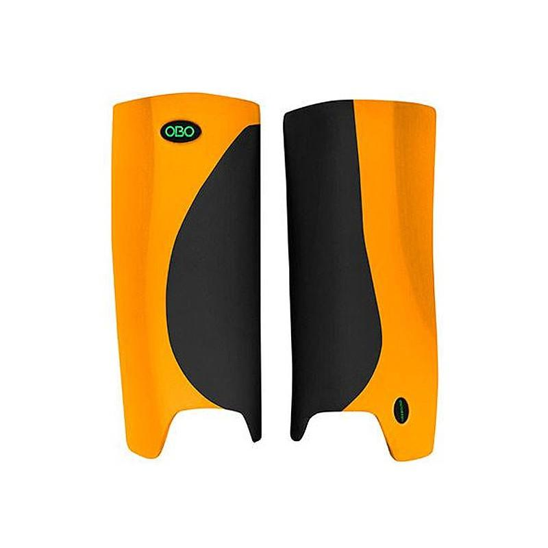 OBO Robo Hi-Rebound Legguards - Black/Orange