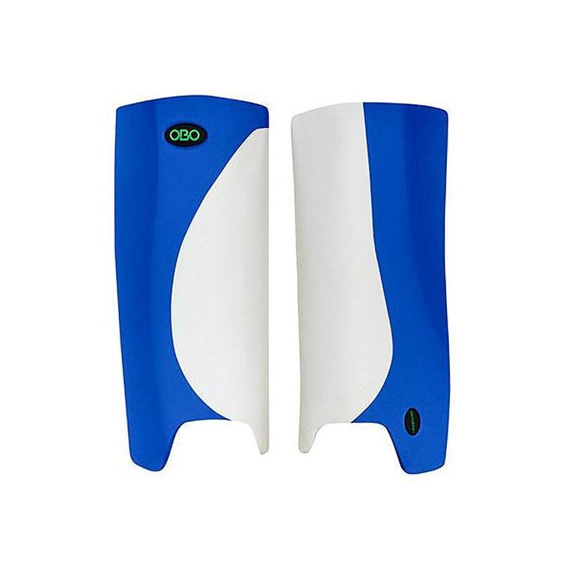 OBO Robo Hi-Rebound Legguards - White/Blue