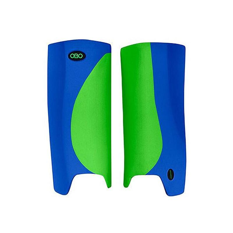 OBO Robo Hi-Rebound Legguards - Green/Blue