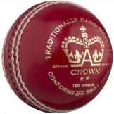 Gray Nicolls Crown 2 Star Cricket Ball - Red