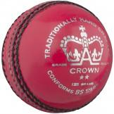 Gray Nicolls Crown 2 Star Cricket Ball - Pink