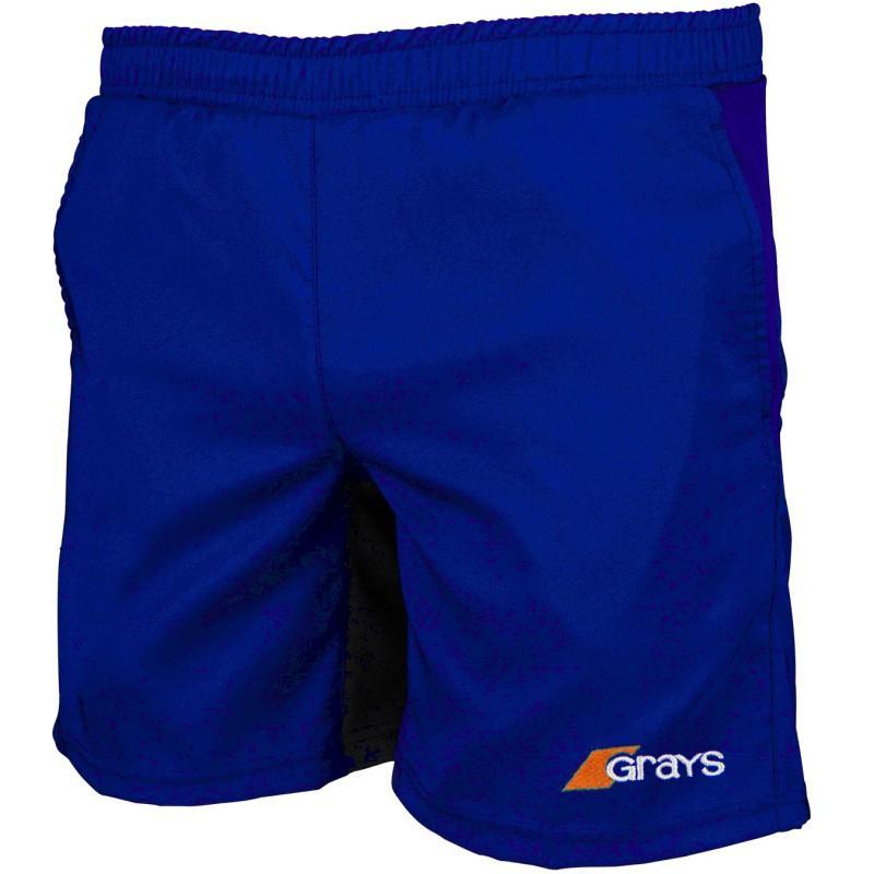 Grays Axis Hockey Shorts - Royal Blue