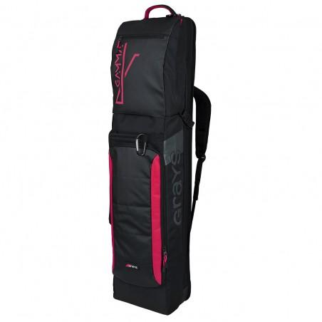 Grays Gamma Hockey Kit Bag - Black/Pink (2019/20)